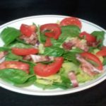 Spinach/Romaine Salad